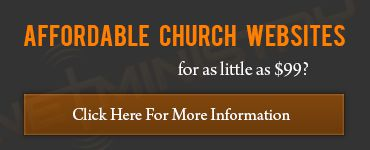Affordable Church Websites by NetMinistry
